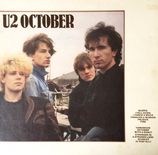 U2 - October (LP) (EX/VG)